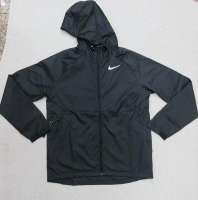 【NIKE】~ NIKE 男機織夾克 快速排汗 慢跑 跑步 薄外套 連帽運動外套 防潑水 BV4871-010 黑