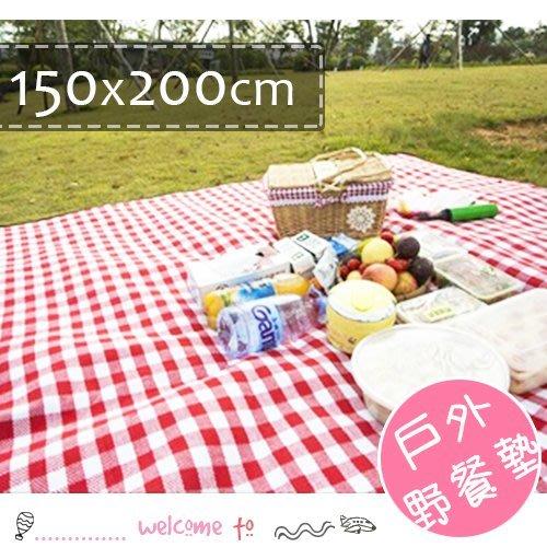 HH婦幼館 戶外便攜加厚野餐墊 防潮墊 150x200【3E162G114】