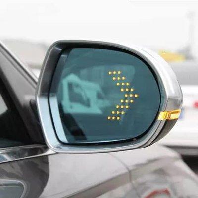 Golf 5 mk5 / golf 6 mk6 / golf plus專用除霧曲面 LED 方向燈後視鏡