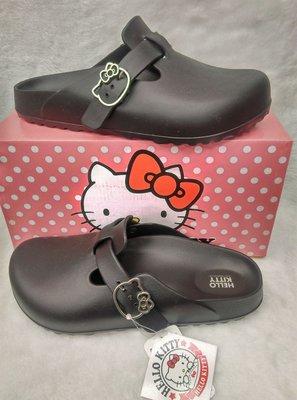 愛鞋子 HELLO KITTY女休閒鞋拖鞋 專櫃拖鞋 方便鞋 台灣製