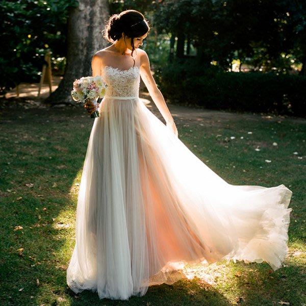 新年婚禮禮服婚紗禮服宴會禮服森系超仙夢幻度假旅拍海邊外景新娘輕婚紗禮服批發