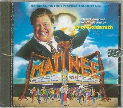 """""""Matinee""""- Jerry Goldsmith(30),全新美版"""