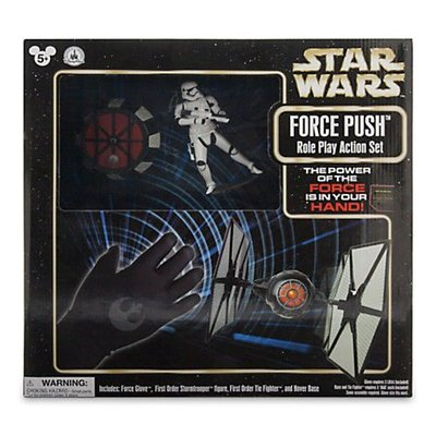 金錢貓雜貨~ 全新 Star Wars 星際大戰 Force Push Role Play Action SET