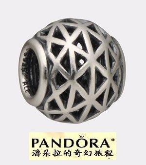 潘朵拉絕版品{{潘朵拉的奇幻旅程}} Pandora - Grid Bead 790956 *RETIRED*
