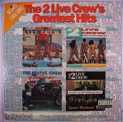 《二手美版黑膠》 The 2 Live Crew s Greatest Hits  (2LP)