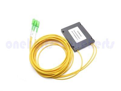 光纖二分配 分光器WDM 光分路器Coupler 光耦合器 多模 單模 接頭可選 可以客製化 電腦資訊