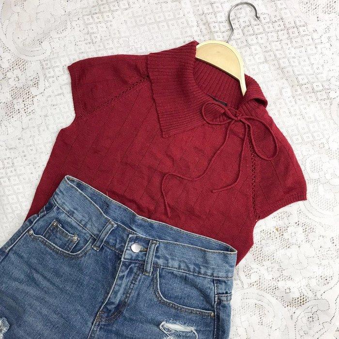 《Miss Iris》全新羊毛紅色上衣 秋冬美衣上架 詳閱敍述 實拍