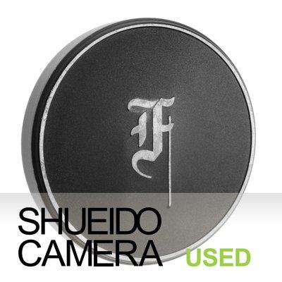 集英堂写真機【1個月保固】良上品 OLYMPUS PEN F 56mm 金屬鏡頭前蓋 18361
