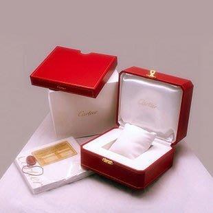 SUKI- 代用款 全新品  cartier 經典 錶盒 套裝