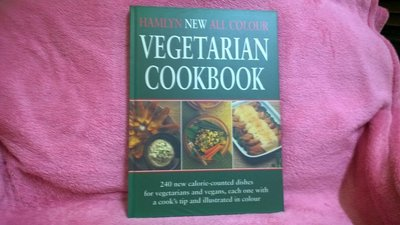 【珍寶二手書齋FB10】Hamlyn New All Colour Vegetarian Cookbook
