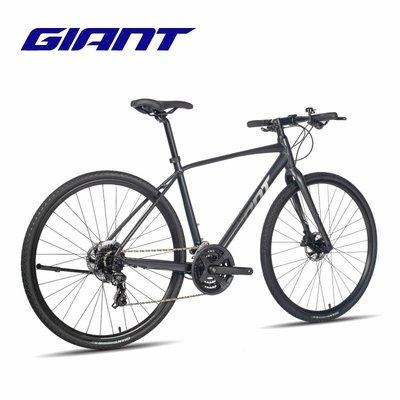 自行車Giant捷安特Escape 1成人男城市休閑通勤24速健身平把公路自行車