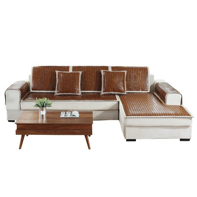 @家具坊 新款夏季麻將沙發墊竹涼墊沙發墊子涼席夏天款實木沙發防滑墊坐墊定做