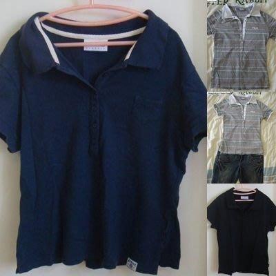 Reebok 全新女款 休閒 運動 短袖棉T polor短袖 短袖T恤衫-深藍M-萊卡有彈性.原價1180