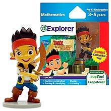 LeapFrog兒童學習遊戲機帶連公仔Leapster LeapPad Disney Jake & Never Land Pirates學童幼兒教育益智game