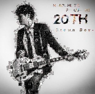 特價預購 藤木直人 20th  Grown Boy  (日版通常盤CD) 最新2019 航空版