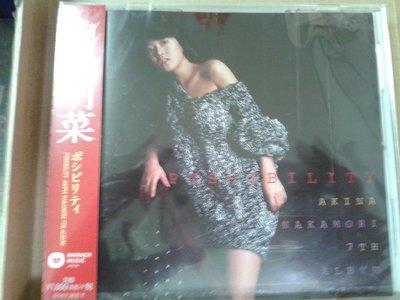 中森明菜抒情大碟possibility收錄2014年日本華納限量復刻(24BIT digital高音質) 未拆