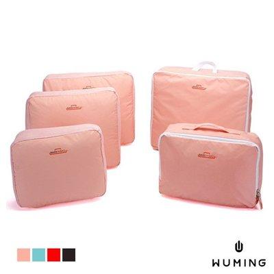 『無名』 五件組 旅遊收納袋 背包行李袋 護照包 夾 旅行袋 護照 行李箱 吊牌 收納 盒 H03116
