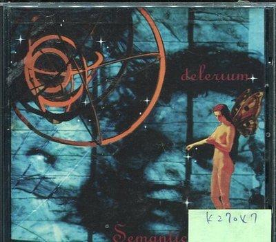 *真音樂* DELERIUM / SEMANTIC SPACES 二手 K27047