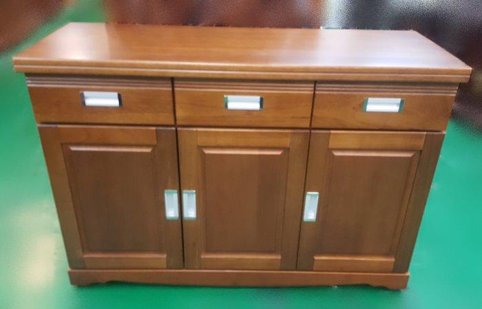 宏品二手家具 中古傢俱大賣場 A-989*樟木色餐櫃*碗盤收納櫃 隔間屏風櫃 展示櫃 高低櫃 電視櫃 平面櫃 置物櫃