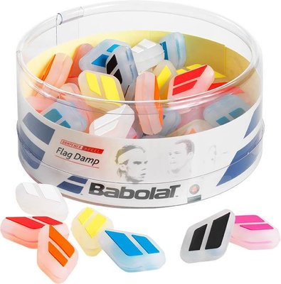 【曼森體育】BABOLAT FLAG DAMP 避震器 網球拍 全新logo 七色