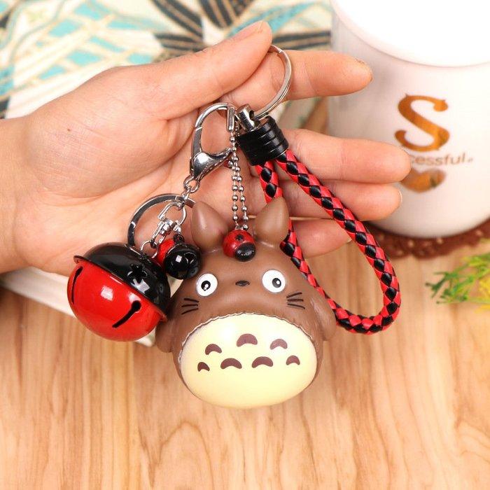 [熱銷吊飾]2005 錀匙圈 飾掛 吊飾 娃娃機 飾品卡通龍貓公仔鑰匙扣創意可愛娃娃搪膠鑰匙鏈鈴鐺配飾包包掛件62