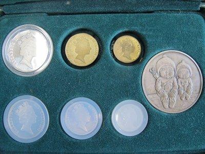 二手舖~澳洲紀念套幣 紀念幣 銀幣 錢幣