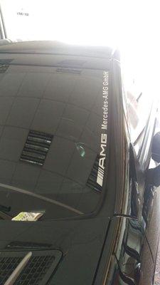 AMG貼紙 車身貼紙 個性貼紙 潮貼