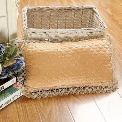 [Special Price]《2件免運》美容花邊枕套含枕芯 午休枕 1件 45*25公分
