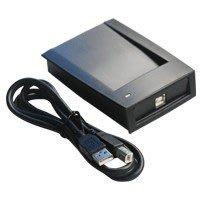 【讀卡機】MIFARE晶片卡USB免驅動程式,可讀悠遊卡台灣通IC卡號R F ID Reader感應卡