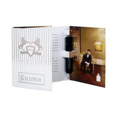 ☆MOMO小屋☆ PARFUMS de MARLY 加洛韋 GALLOWAY 淡香精 1.2ml (原廠噴式)
