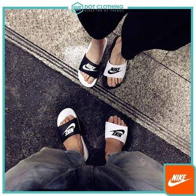 DOT 聚點 NIKE BENASSI JDI MISMATCH黑白 陰陽  拖鞋 熊貓 男女鞋 818736-011
