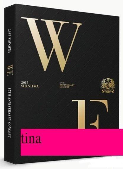 2015 Shinhwa 17th Anniversary Concert We 神話韓國版17周年演唱會2DVD贈寫真