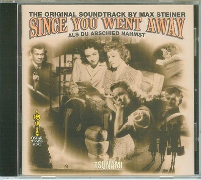 """Since You Went Away""- Max Steiner(23),全新歐版"