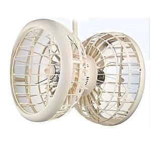 雙生-吊掛式風球機雙面風扇 雙頭扇 循環扇