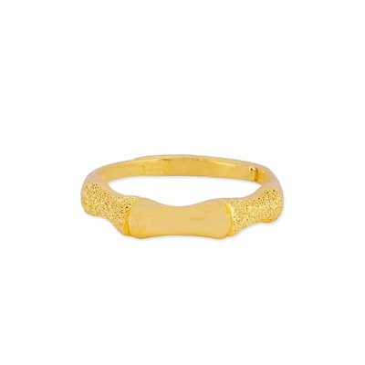 【JHT 金宏總珠寶/GIA鑽石】1.29錢 節節高升黃金戒指 (請詳閱商品描述)