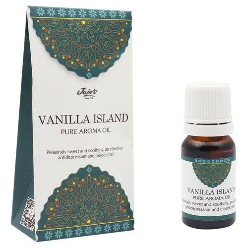 [綺異館]印度香氛精油 香草小島 10ml JAIN'S VANILLA ISLAND pure 另售印度皂 印度香