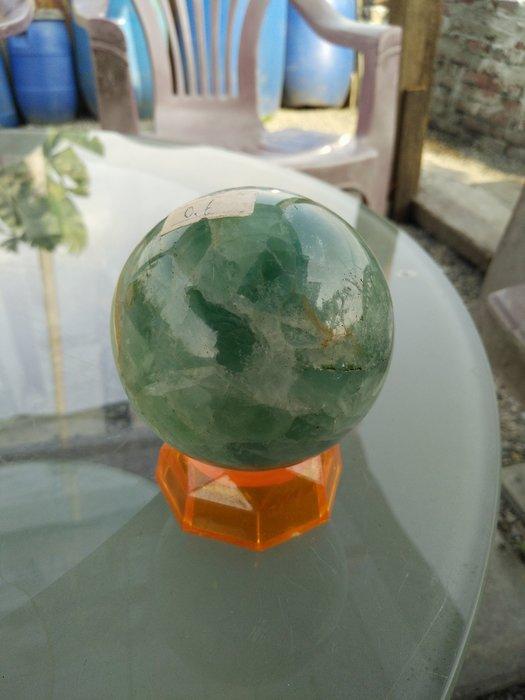 拼人氣,早期收藏,天然美玉石球,螢石,夜明珠,冷翡翠球,直徑約7mm,重約534公克