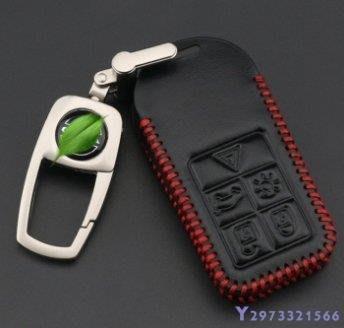 新品上新 AP Volvo S60 XC60 V40 XC70 XC90 S80 V60 POLESTAR 汽車真皮鑰匙