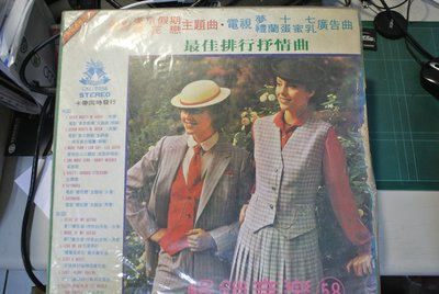 LP 黑膠唱片 ~ 暢銷音樂 58 ~ 1980 鐘聲  CKL-7058 無IFPI
