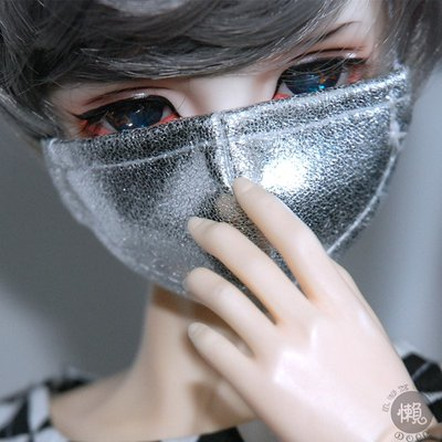 懶娃BJD346分17叔皮口罩配飾拍照道具口罩SD人偶娃用三四六分【此為售賣口罩,幾分娃用請告知】