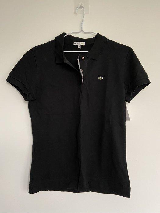 保證正品 Lacoste 黑色 女44 短袖polo衫