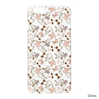 尼德斯Nydus~* 日本正版迪士尼 米妮 Minne 透明 硬殼 手機殼 蝴蝶結 5.5吋 iPhone6+ Plus