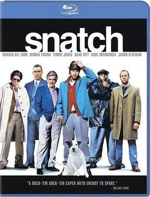 BD 全新美版【偷拐搶騙】【Snatch】Blu-ray 藍光 布萊德彼特