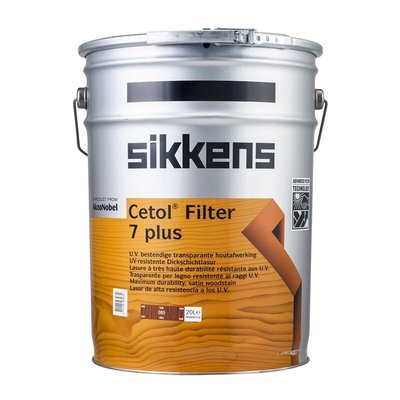 Sikkens Cetol Filter 7 Plus 20L Teak Timber Stain 面漆 護木 德國進口