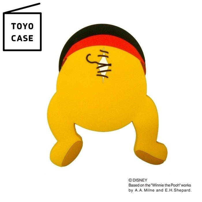又敗家@日本TOYO CASE迪士尼磁小熊維尼吸掛勾MH-D04白板貼Winnie鑰匙吸鐵掛勾冰箱貼留言板磁鐵貼留言板貼