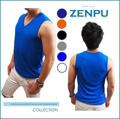 【ZENPU】 超值3件組~三槍牌宜而爽CoolPlus速乾100%透氣排汗無袖V領衫/背心/內衣/運動2XL