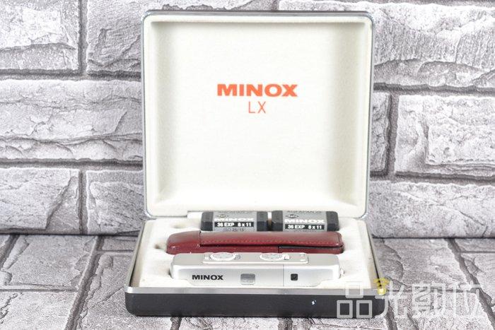 【品光數位】MINOX LX 15mm F3.5 間諜相機 底片相機 #77564T