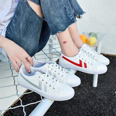 運動鞋 休閒鞋韓范兒小白鞋女春秋季新款學生平底基礎單鞋百搭時尚帆布鞋女