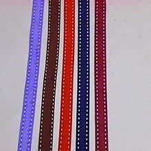 幸福圓滿屋~羅紋緞帶,兩邊浮白線~寬1.2公分,3碼@25元, 羅紋緞帶, 緞帶, 拼布,髮飾材料,婚禮小物