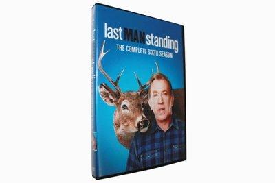 外貿影音 美劇 最后的男人1-6季DVD英文原版Last Man Standing高清英語碟片